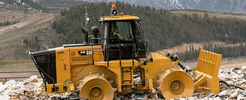 Cat Landfill Compactor : New landfill compactor global recycling