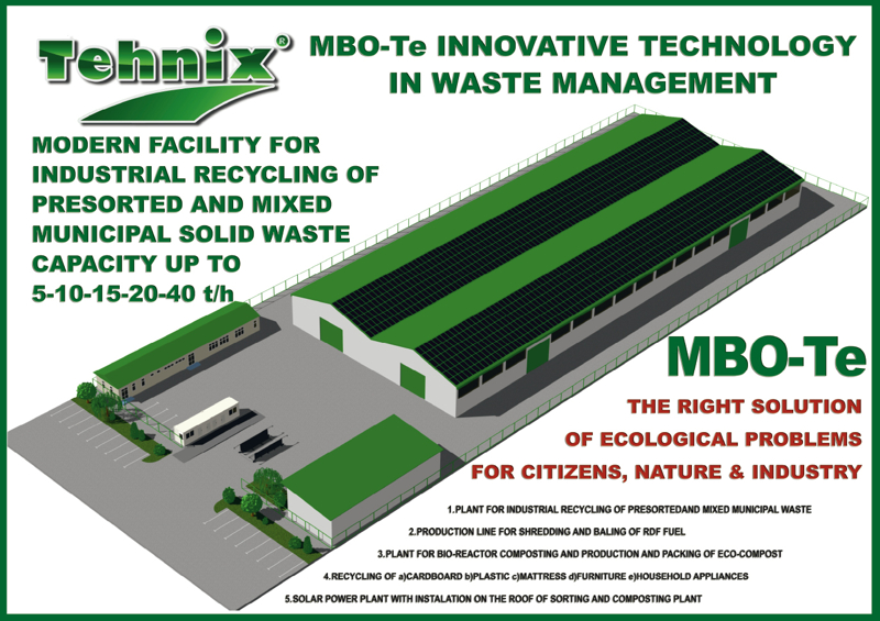 The New Technology for Industrial Recycling of Municipal Waste
