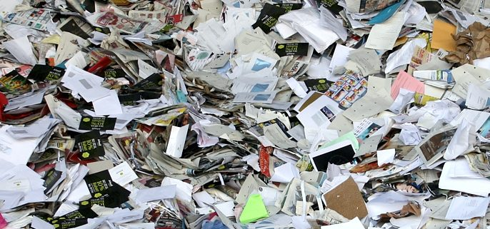 buy waste paper in usa
