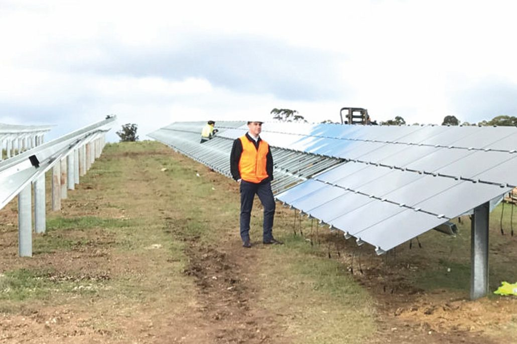 Adelaide Installs Combined First Solar And Methane Power